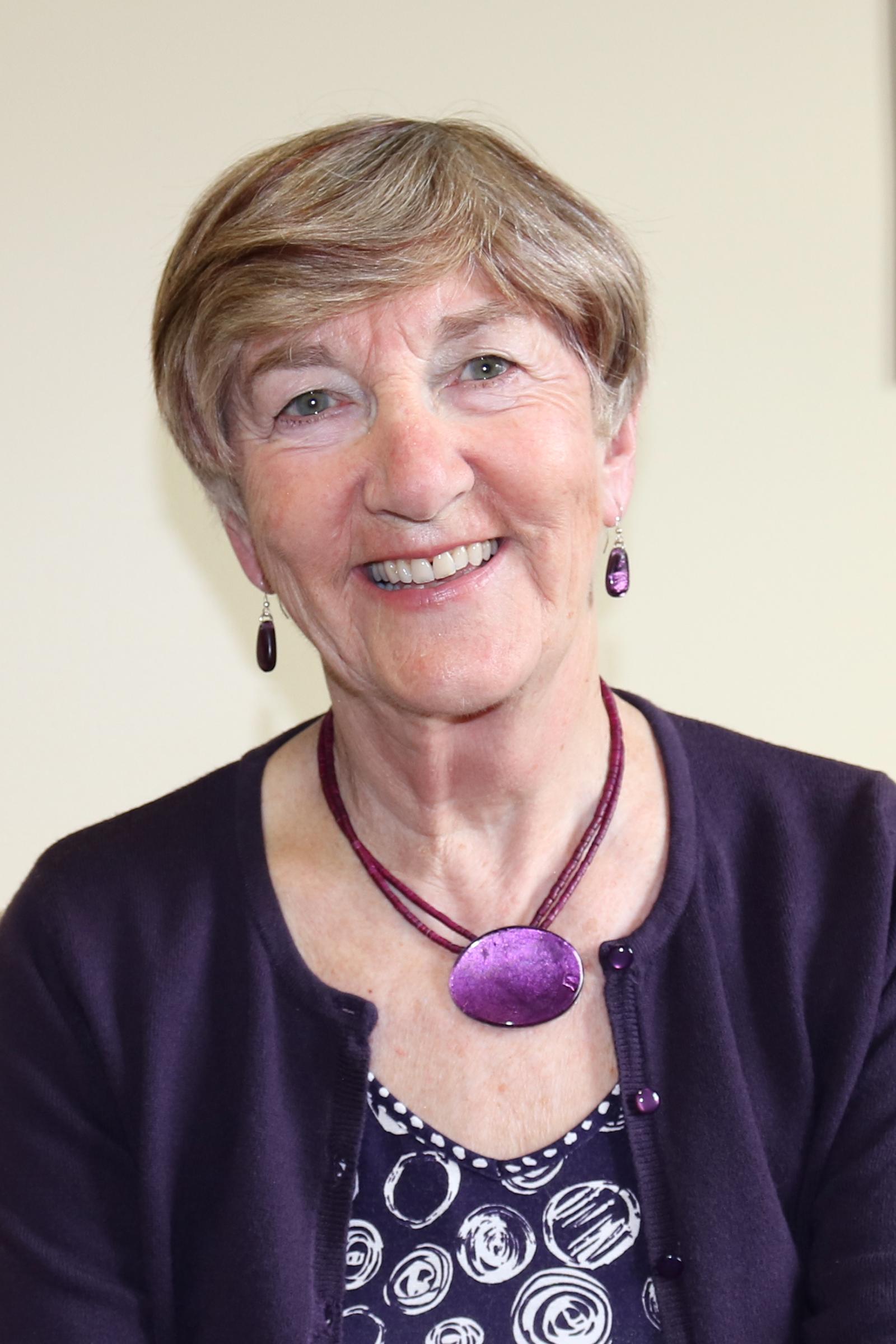 Portrait image of Edwina Gateley