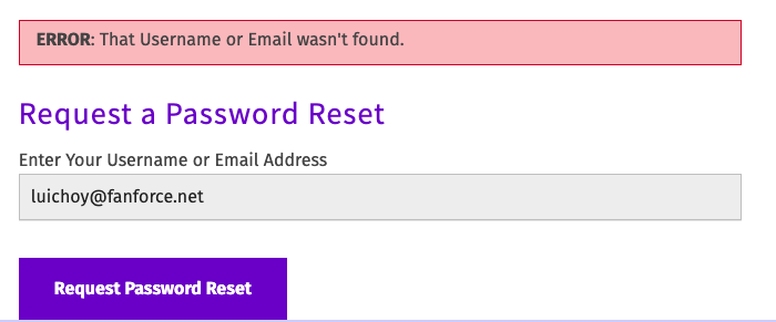 Forgot Password screenshot instructions