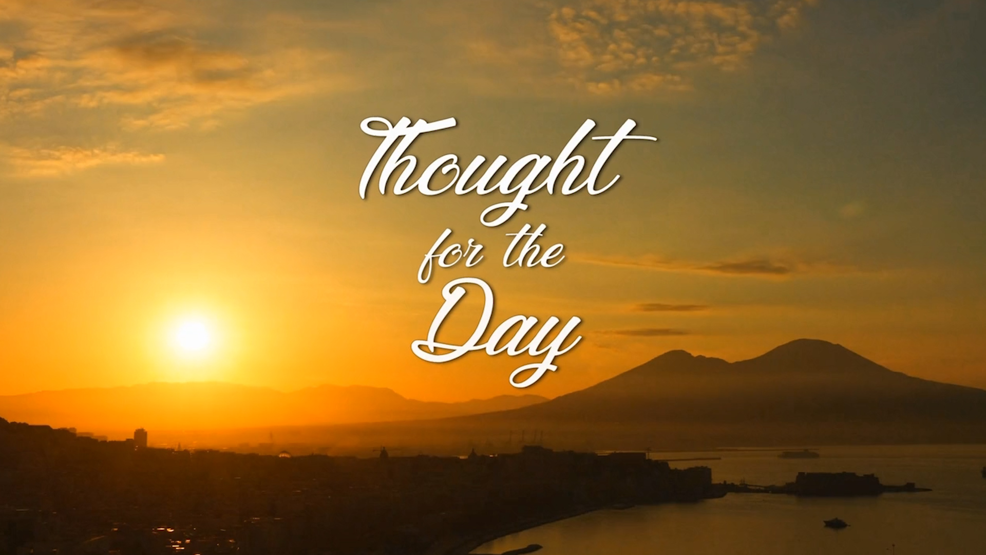 "Screenshot of online video ""Thought for the Day""0"