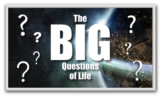"Screen shot of online video series ""The Big Questions of Life"" with Richard Leonard"