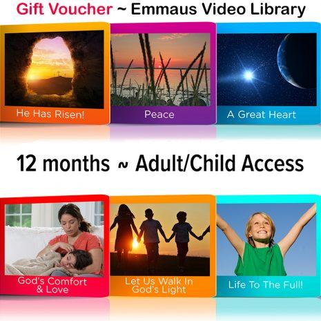Video Voucher 12 Adult Child