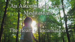 "Screen shot of online video series ""An Astonishing Secret Meditations"" with Daniel O'Leary"