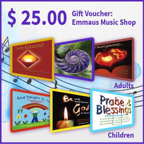 Music Gift Voucher $25